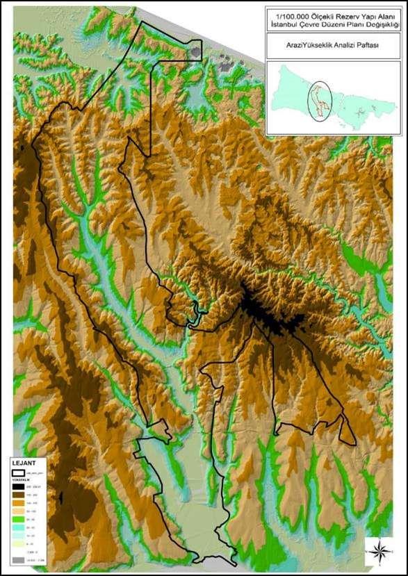 Yükseklik Haritası